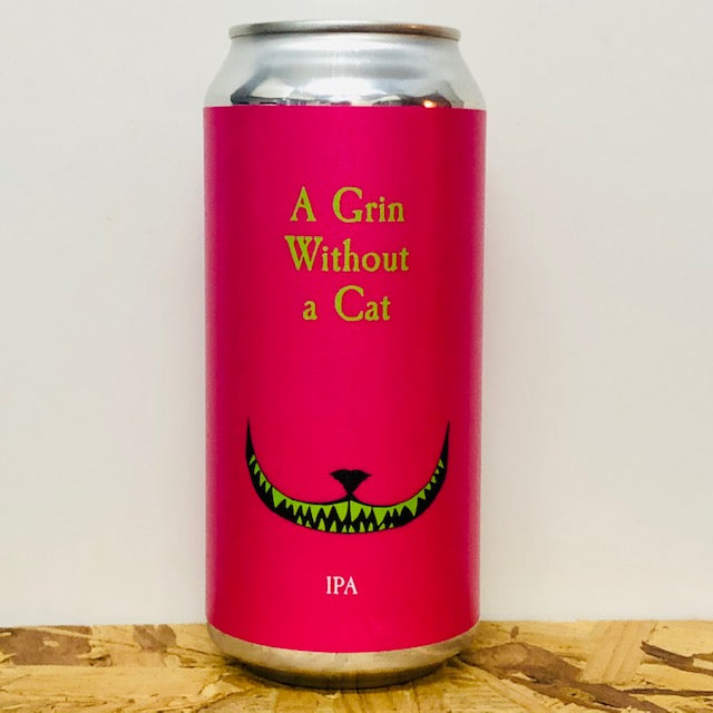 Electric Bear Brewing - A Grin Without a Cat - IPA - 440ml Can
