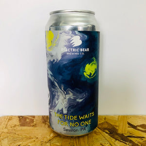 Electric Bear Brewing - The Tide Waits For No One - Session IPA - 440ml Can