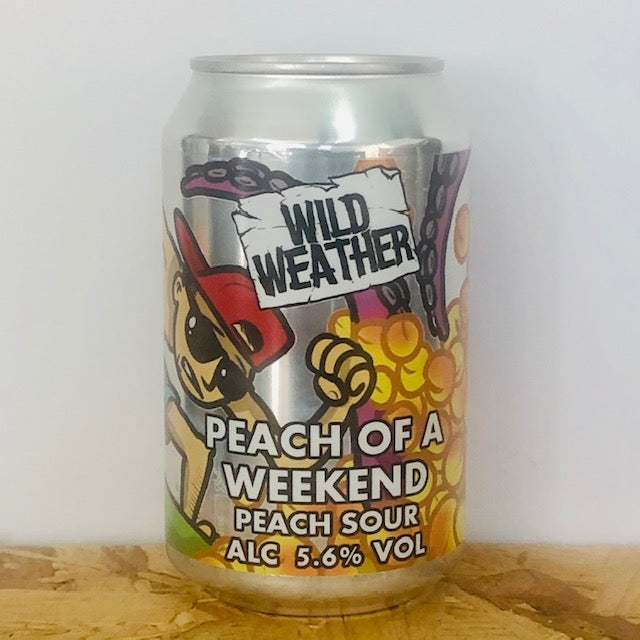 Wild Weather Ales - Peach of a Weekend - Peach Sour - 330ml Can