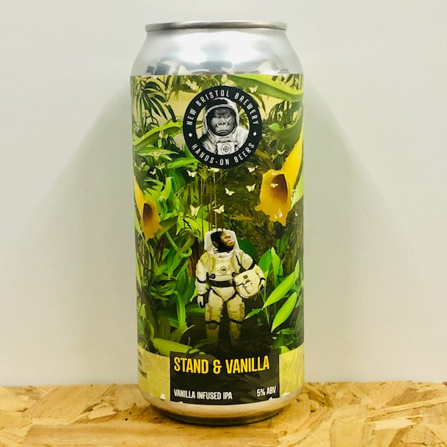 New Bristol Brewery - Stand & Vanilla - Vanilla Infused IPA - 440ml Can