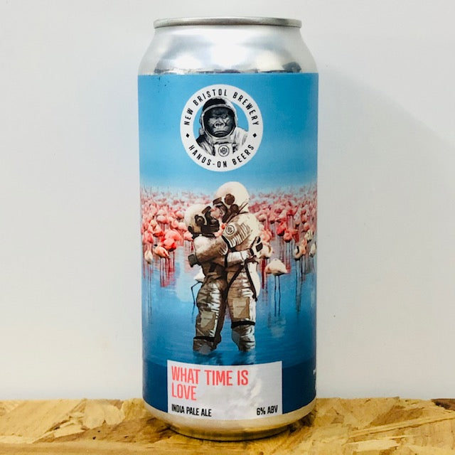 New Bristol Brewery - What Time is Love - India Pale Ale - 440ml Can