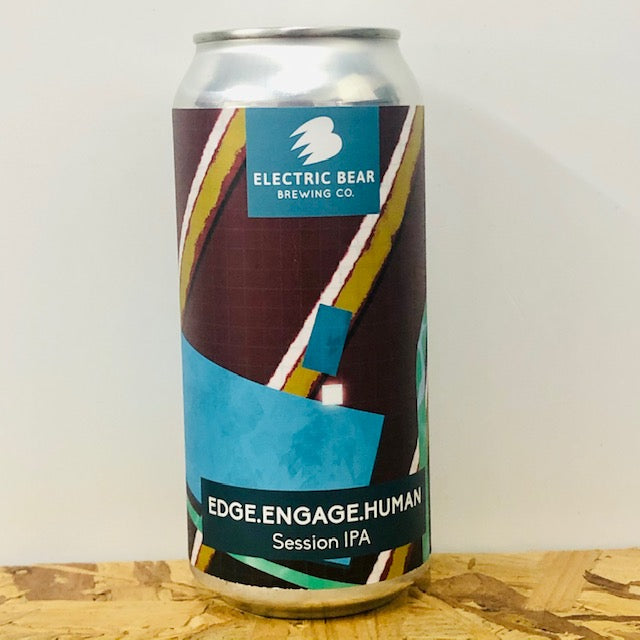 Electric Bear Brewing - Edge.Engage.Human - Session IPA - 440ml Can