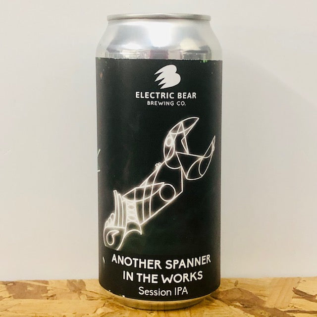 Electric Bear Brewing - Another Spanner in the Works - Session IPA - 440ml Can