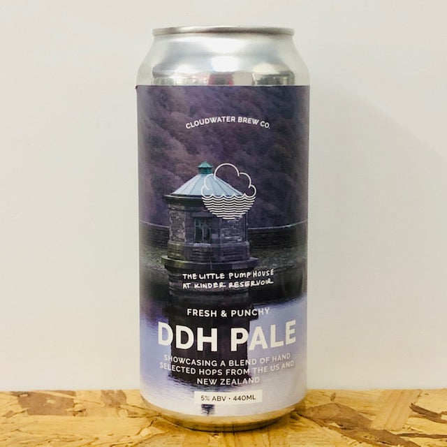 Cloudwater - The Little Pumphouse at Kinder Reservoir - DDH Pale - 440ml Can