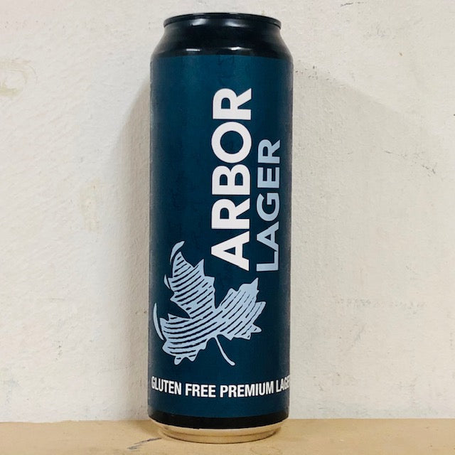 Arbor Ales - Lager - Gluten Free Premium Lager - 568ml Can