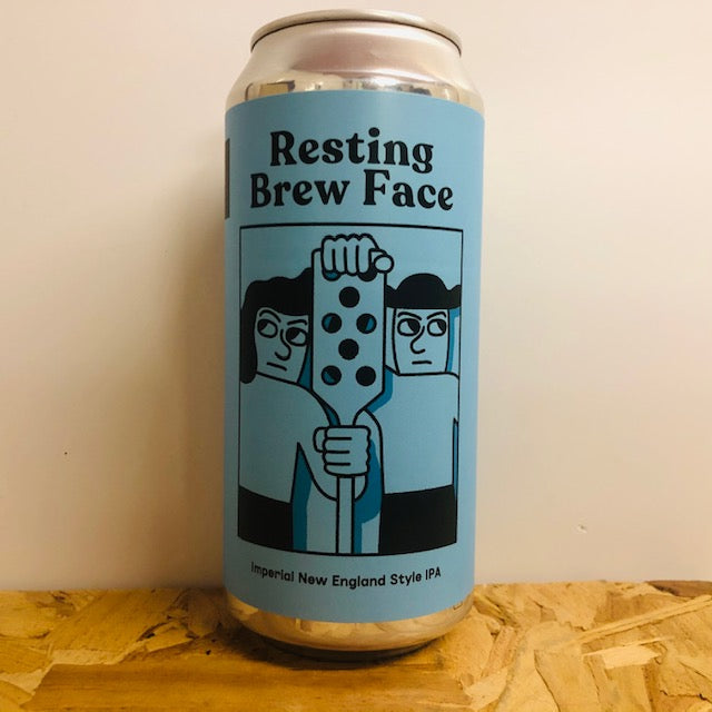 Mikkeller - Resting Brew Face - Imperial New England Style IPA - 440ml Can