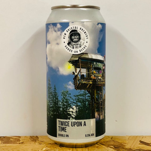 New Bristol Brewery - Twice Upon a Time - Double IPA - 440ml Can