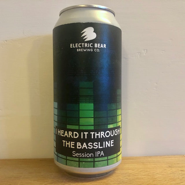 Electric Bear Brewing - I Heard it Through the Bassline - Session IPA - 440ml Can