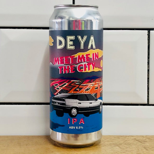 Deya Brewing Co - Meet Me in the City - IPA - 500ml Can