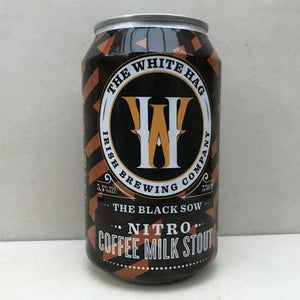 White Hag Brewery - The Black Sow - Nitro Coffee Milk Stout - 330ml Can