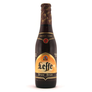 Leffe - Bruin - Belgian Abbey Beer - 330ml Bottle