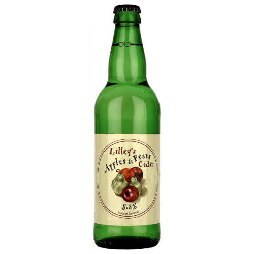 Lilleys Cider - Apples and Pears - 500ml Bottle