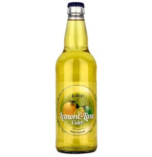 Lilley's Cider Lemon & Lime - Fruit Cider - 500ml Bottle