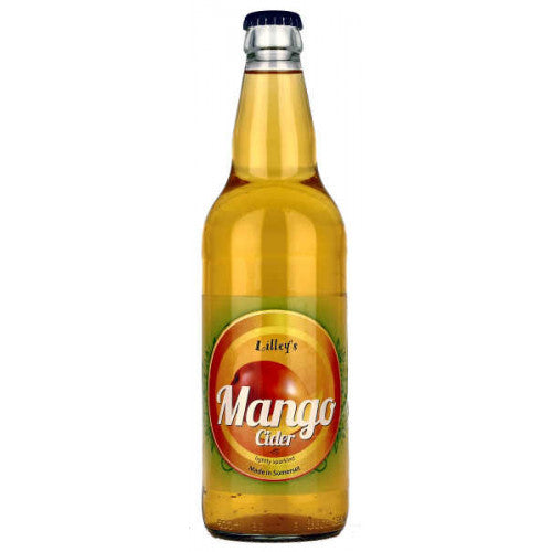 Lilley's Cider - Mango - Fruit Cider - 500ml Bottle