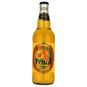 Lilley's Cider - Peach - Fruit Cider - 500ml Bottle