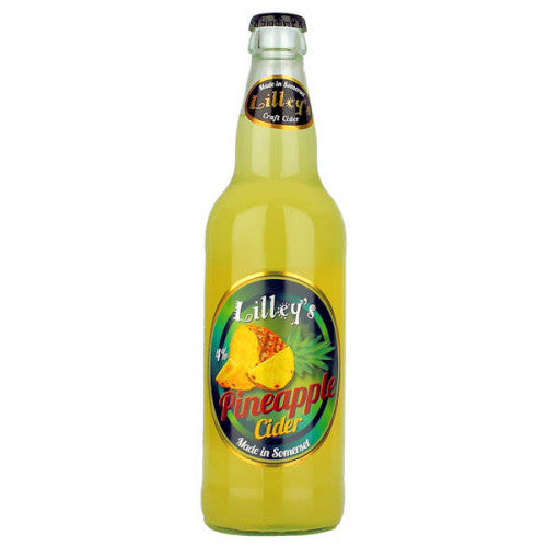 Lilley's Cider - Pineapple - 500ml Bottle