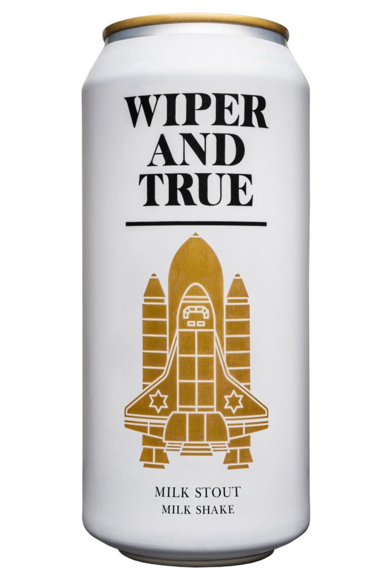Wiper and True - Milk Shake - Milk Stout - 500ml Can