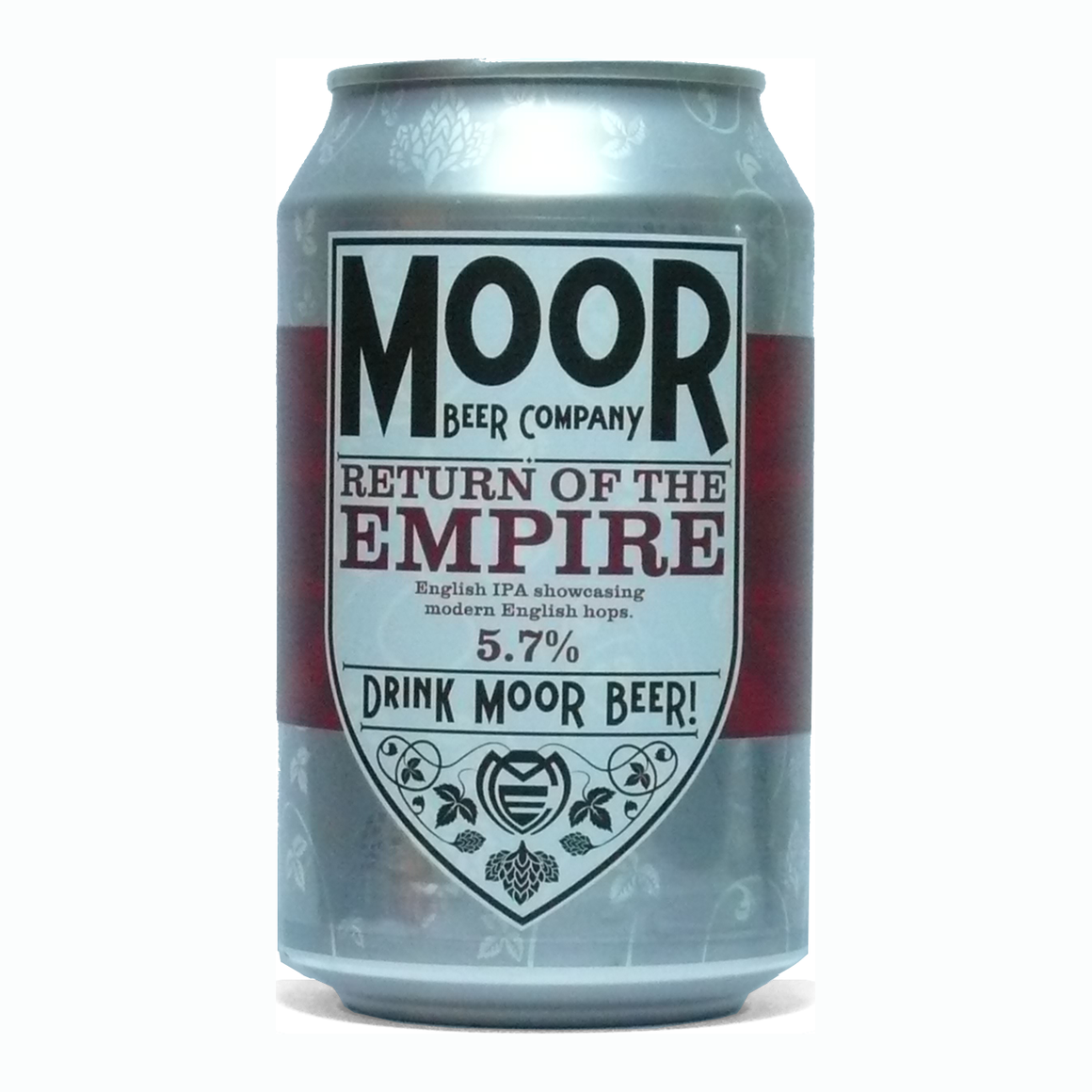 Moor Beer Company - Return of the Empire - English IPA - 330ml Can