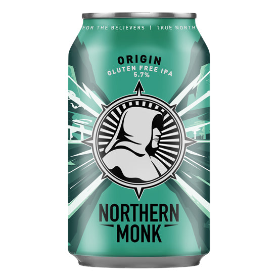 Northern Monk Brew Co - Origin - Gluten Free IPA - 330ml Can