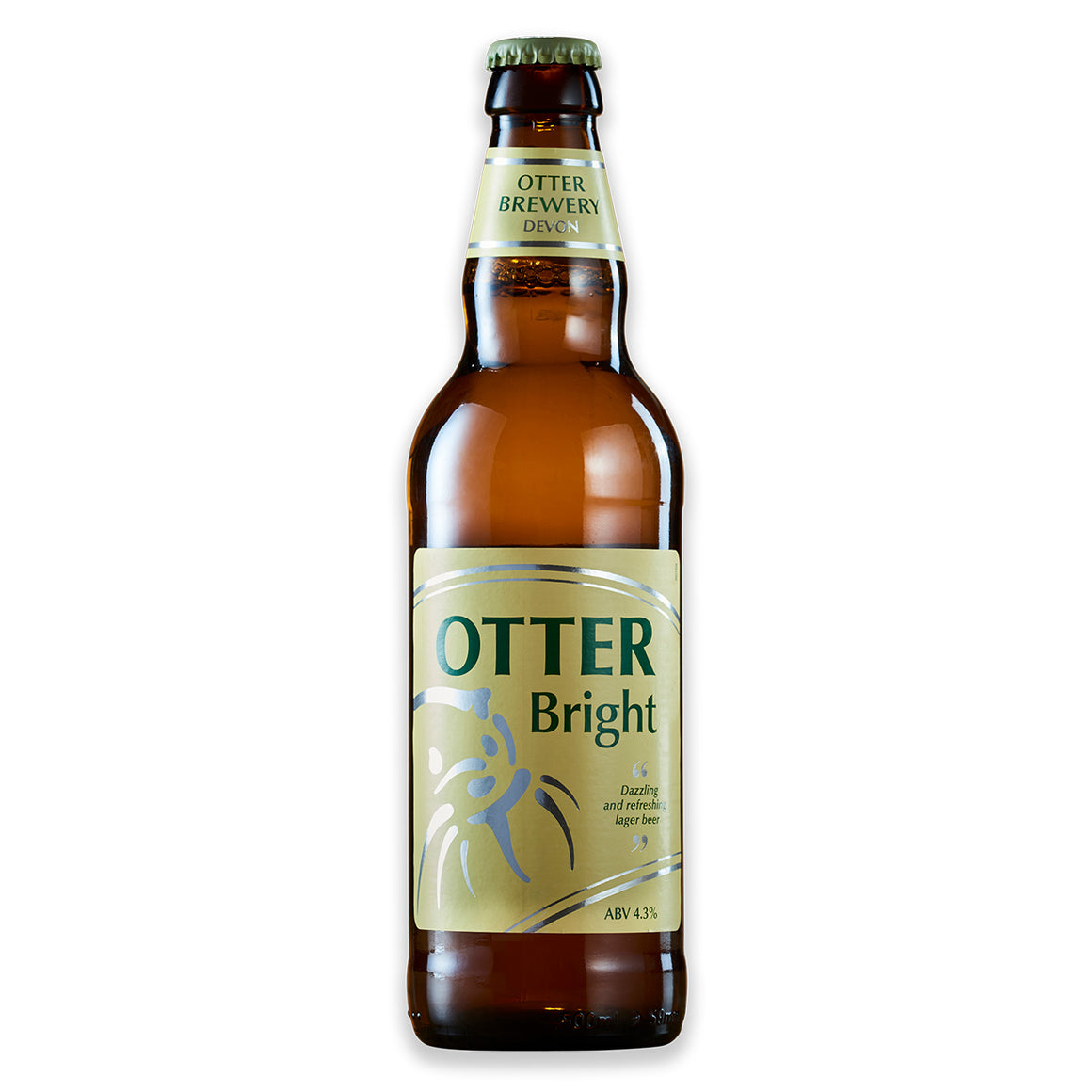 Otter Brewery - Otter Bright - Lager Beer - 500ml Bottle