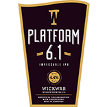 Wickwar Brewing - Platform 6.1 - IPA - 500ml Bottle
