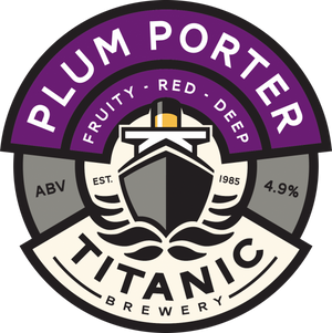 Titanic Brewery - Plum Porter - 500ml Bottle