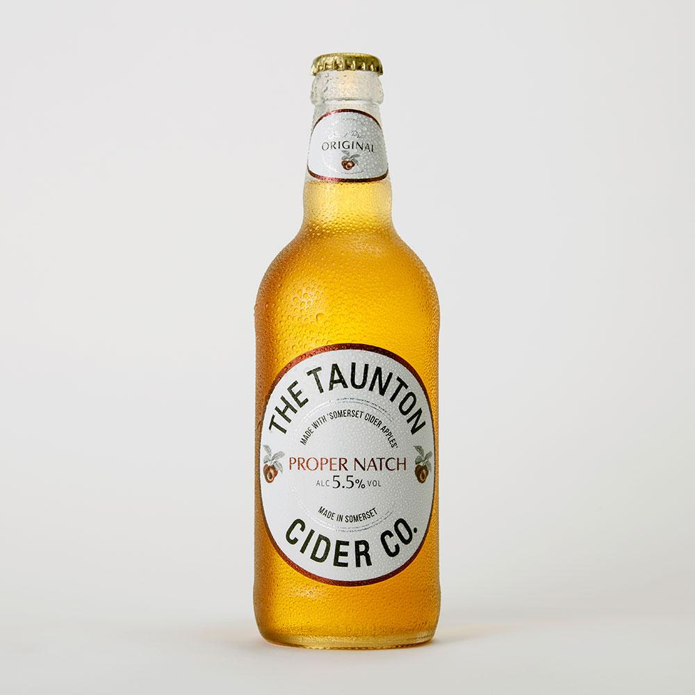 Taunton Cider - Proper Natch - Dry Cider - 500ml Bottle