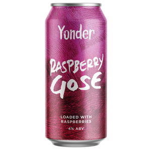 Yonder Brewing - Raspberry Gose - 440ml Can