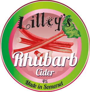 Lilley's Cider - Rhubarb - Fruit Cider - 3 litre Box