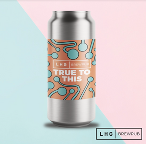 Left Handed Giant - True to This - Hazy Pale Ale - 440ml Can