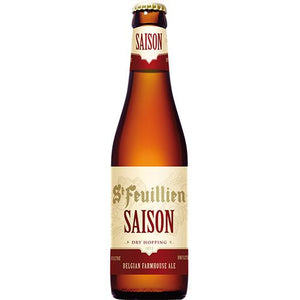 St Feuillien - Saison - Belgian Farmhouse Ale - 330ml Bottle