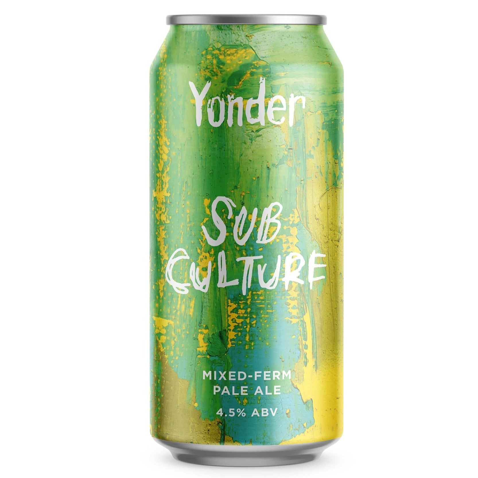 Yonder Brewing - Sub Culture - Mixed-Ferm Pale Ale - 440ml Can