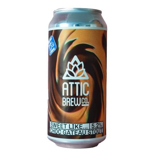 Attic Brew Co - Sweet Like... - Choc Gateau Stout - 440ml Can