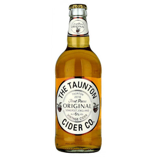 Taunton Cider - Vintage - Medium Dry Cider - 500ml Bottle