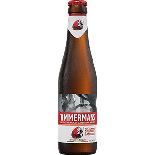 Timmermans - Strawberry Lambicus - Belgian Lambic Beer - 330ml Bottle