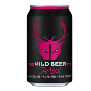 Wild Beer - Jambo - Chocolate & Raspberry Imperial Stout - 330ml Can