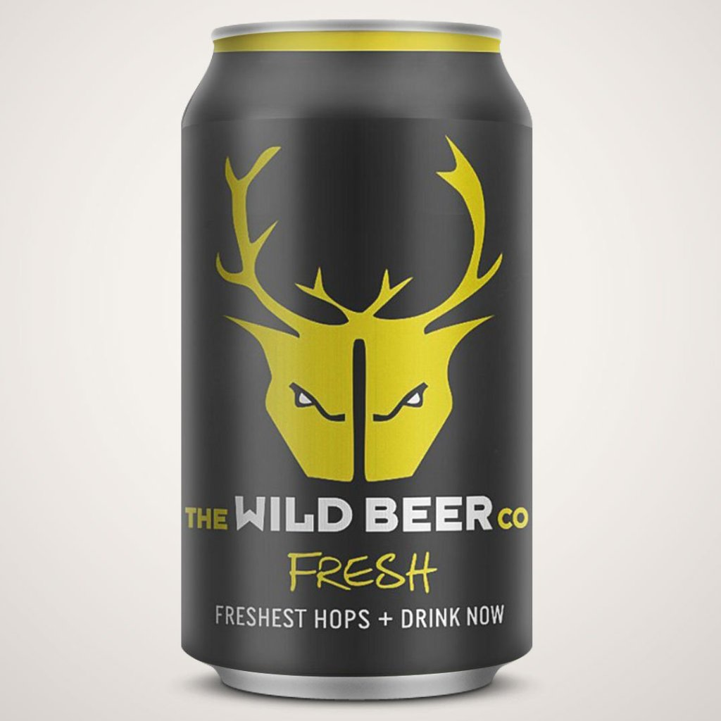 Wild Beer - Fresh - Zingy Pale Ale - 330ml Can