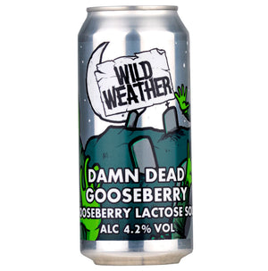 Wild Weather Ales - Damn Dead - Gooseberry Lactose Sour - 440ml Can
