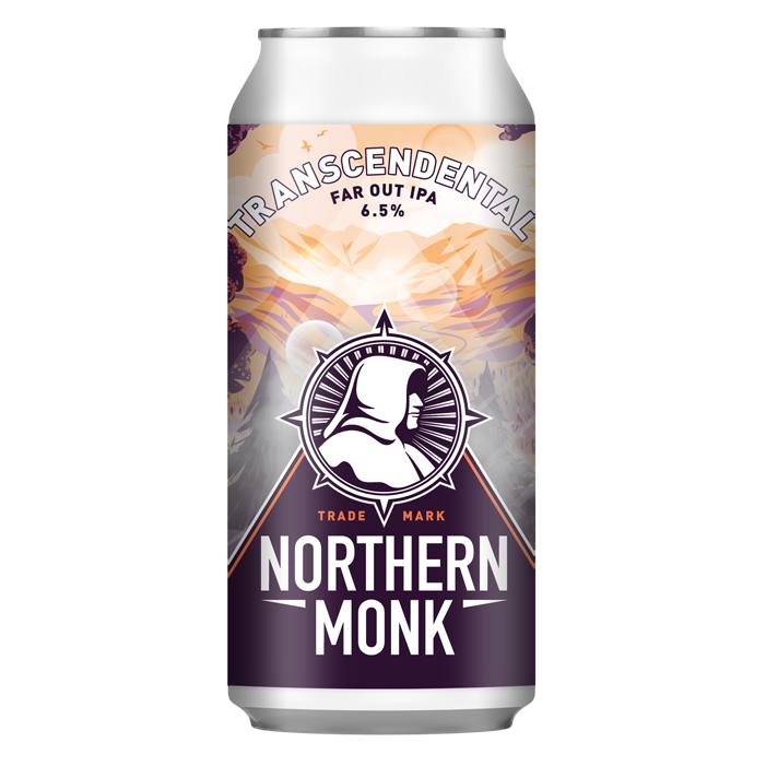 Northern Monk - Transcendental - Far Out IPA - 440ml Can