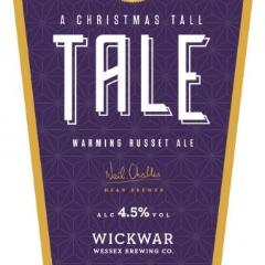 Wickwar Brewing - Christmas Tall Tale - Warming Russet Ale - 500ml Bottle
