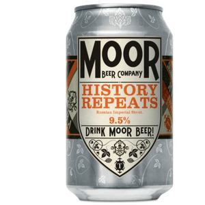 Moor Beer Company - History Repeats - Russian Imperial Stout - 330ml Can