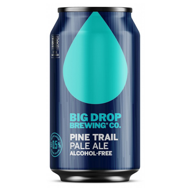 Big Drop Brewing Co - Pine Trail - Alcohol Free Pale Ale - 330ml Can