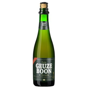 Brouwerij Boon - Oude Geuze Boon - Belgian Lambic Beer - 375ml Bottle
