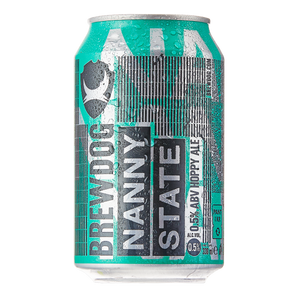 BrewDog - Nanny State - Alcohol Free Hoppy Ale - 330ml Can