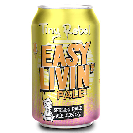 Tiny Rebel - Easy Livin' - Session Pale Ale - 330ml Can