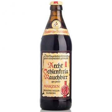 Schlenkerla Rauchbier Marzen - Classic Smoked Beer - 500ml Bottle