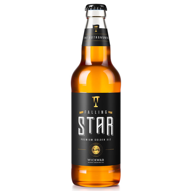 Wickwar Brewery - Falling Star - Golden Ale - 500ml Bottle