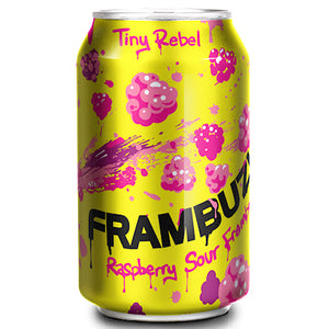 Tiny Rebel - Frambuzi - Raspberry Sour - 330ml Can