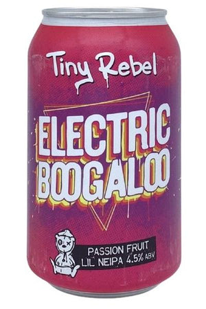 Tiny Rebel - Electric Boogaloo - Passion Fruit Lil' NEIPA - 330ml Can