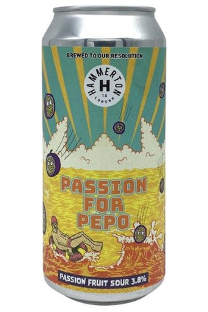 Hammerton - Passion for Pepo - Passion Fruit Sour Beer - 440ml Can